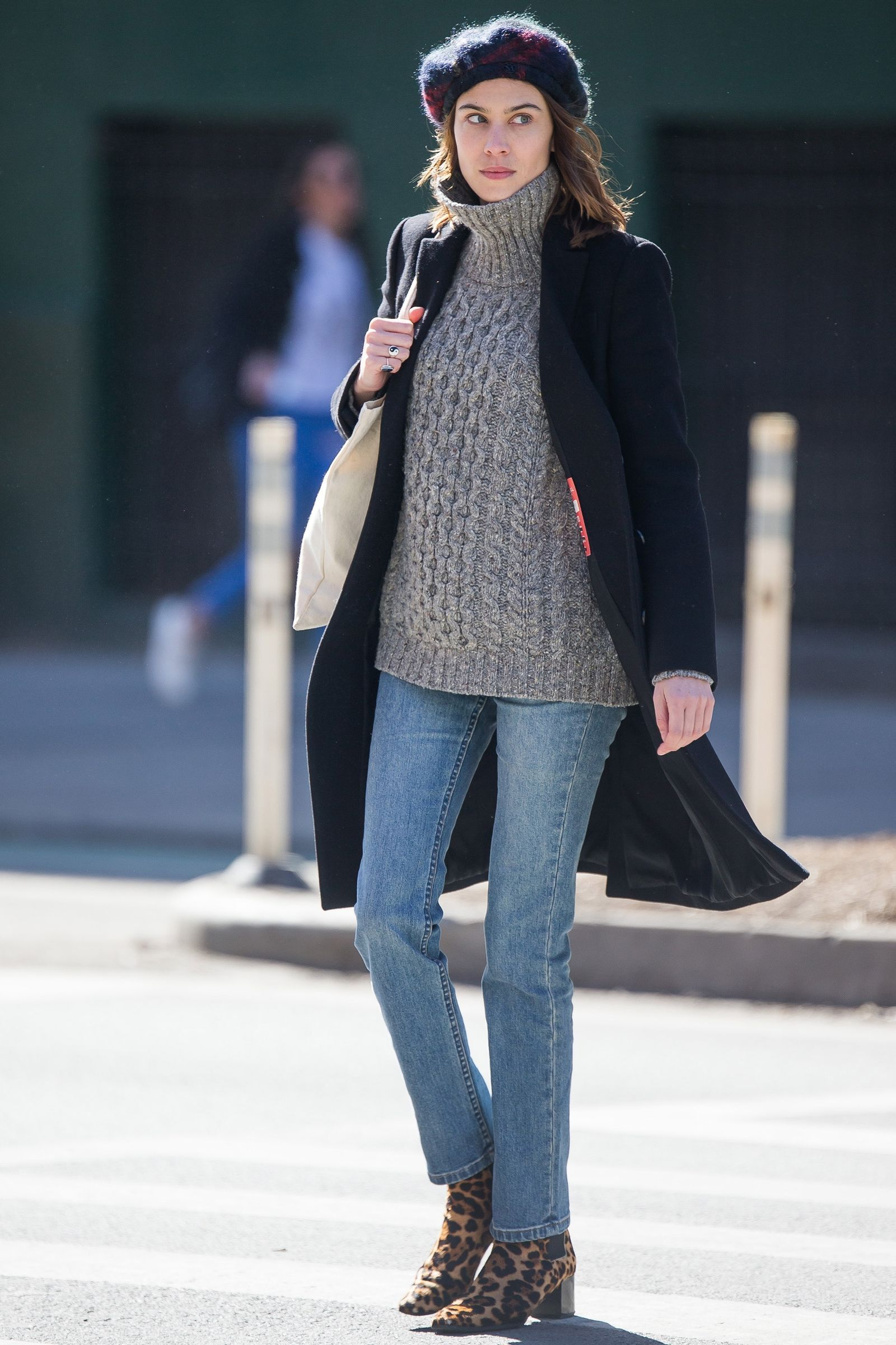 celebrity winter outfit