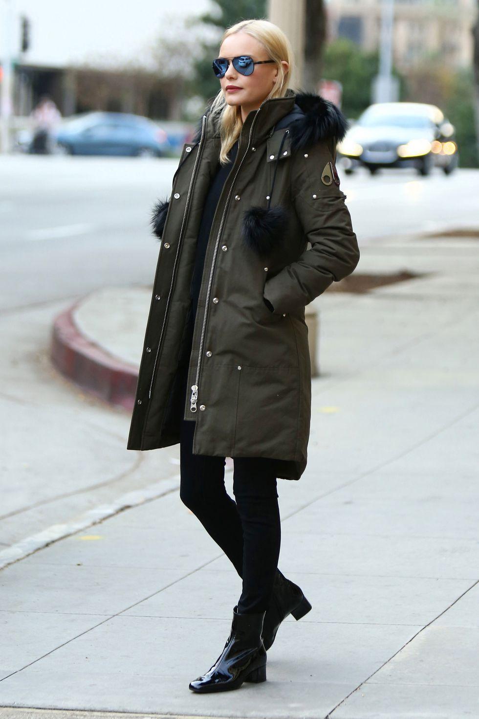 winter celebrity style