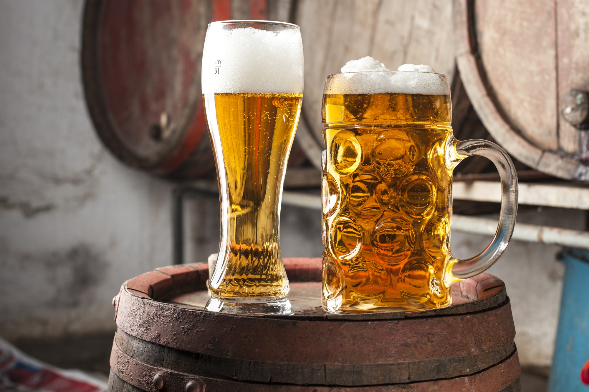 Two Beers alchohol