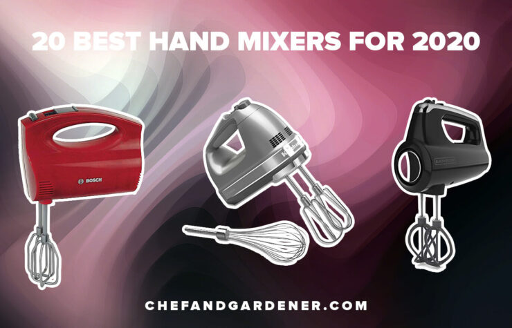 20 Best Hand Mixers For 2020