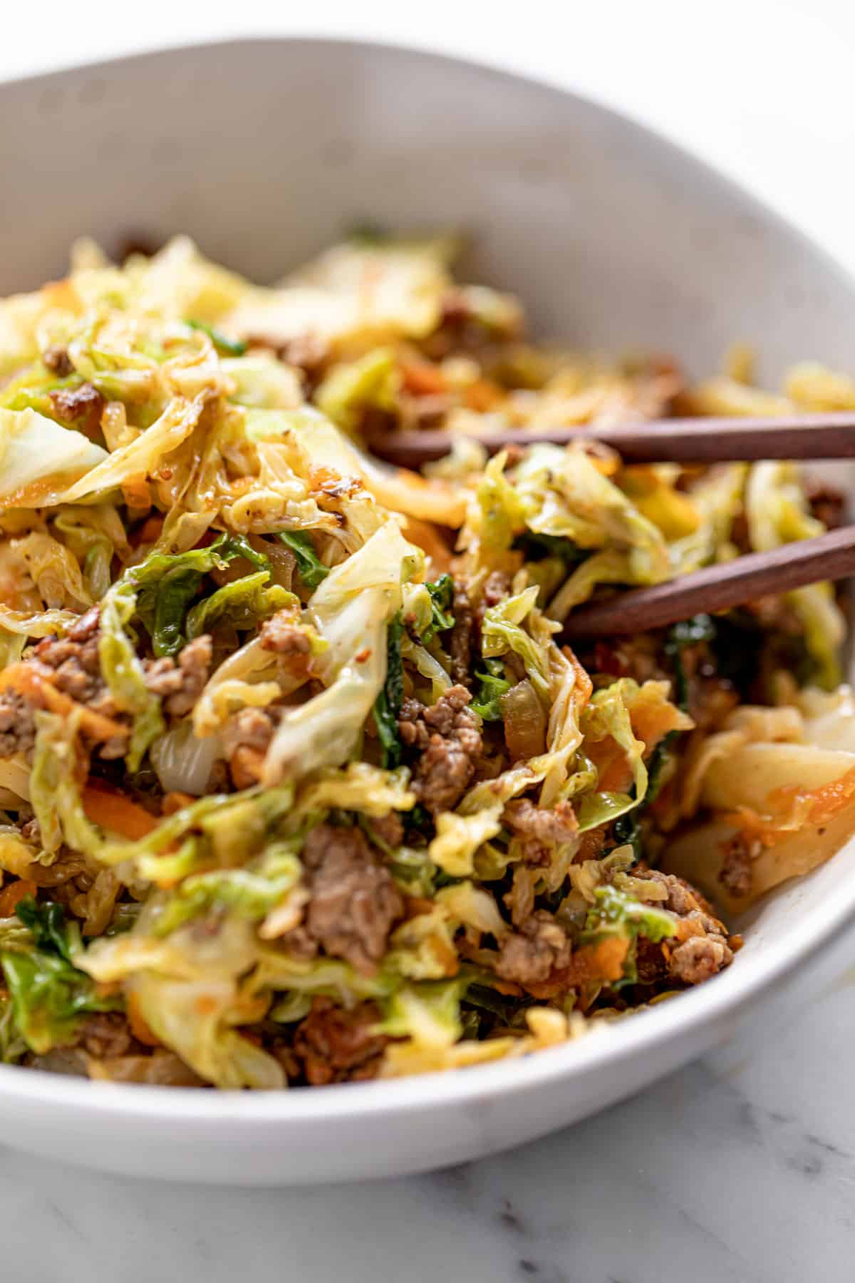 easy ground beef stir fry