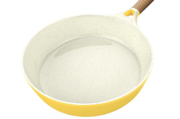 how to fix ceramic pan
