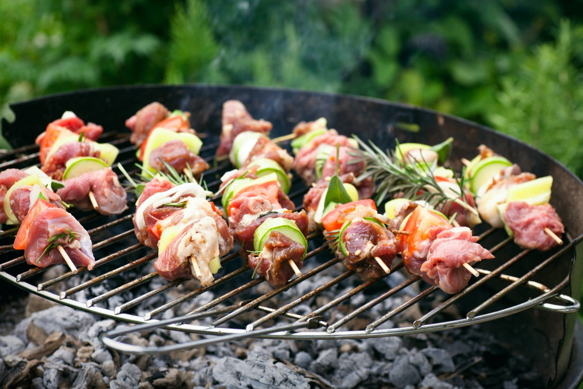 Grill methods of cooking