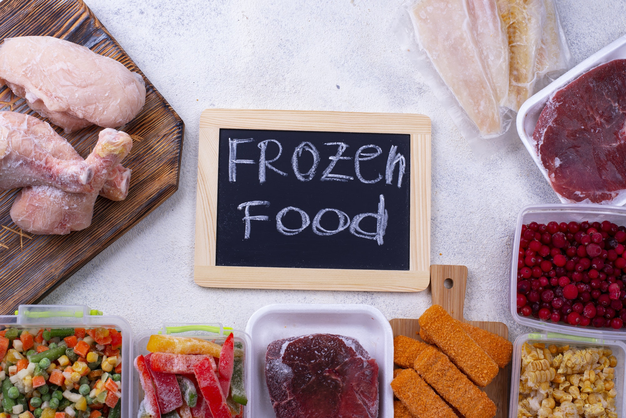how to thaw frozen chicken