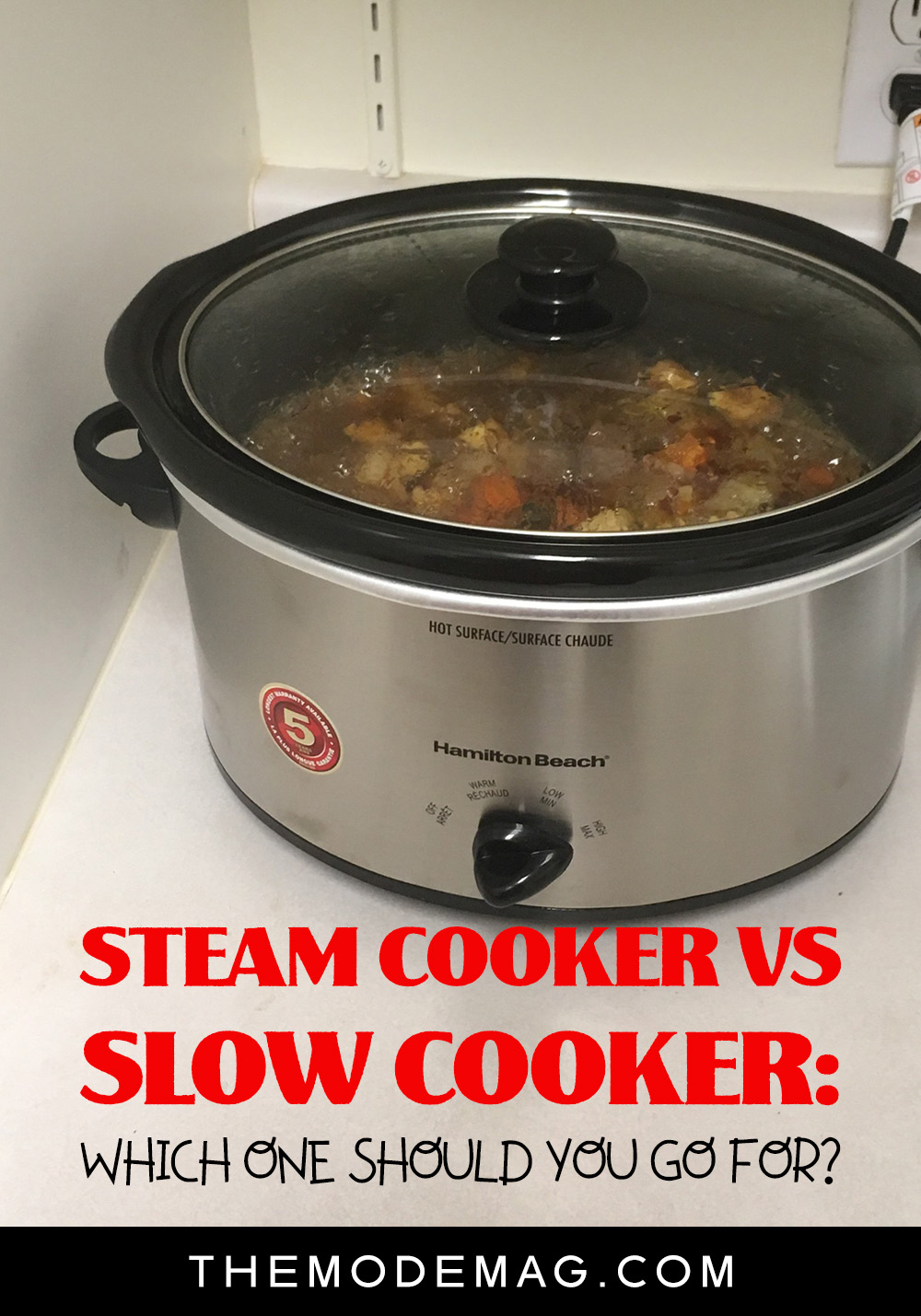 Steam Cooker vs Slow Cooker: Which One Should You Go For?