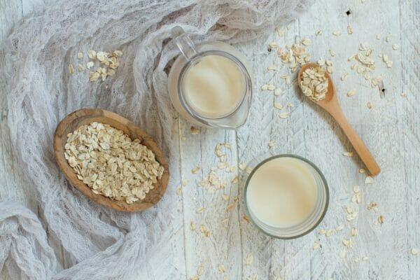 Vegan oat milk