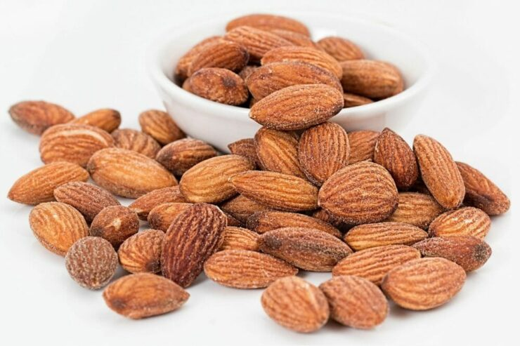 almond and nuts